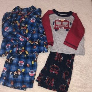 Boys Pajamas (2 sets)